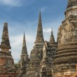 Stupas of Wat Si Sanphet, Ayutthaya, Thailand — Stock Photo #24032397