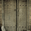 Royalty-Free Stock Photo: Close-up image of ancient doors
