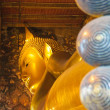 Stock Photo: Reclining buddha, wat pho, bangkok, thailand
