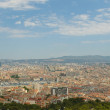 Panoramic view of Marseille and old port — Stock Photo