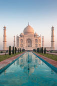 Taj mahal, agra, india — Foto Stock