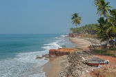 Varkala beach, Kerala, India — Stock Photo