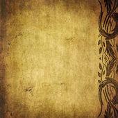 цветочный гранж-фон с пространства для текста или изображения — Стоковое фото