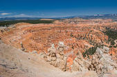 Red pinnacles (hoodoos) of Bryce Canyon, Utah, USA — Stock Photo