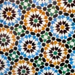 Moroccan tile background — Stock Photo