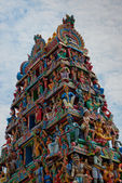 Sri Mariamman Temple, Singapore's oldest Hindu temple — Stok fotoğraf