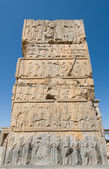 Ruins of ancient city of Persepolis — Stock Photo