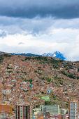 Panoramic view of La Paz, Bolivia — Stock Photo