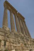 Ancient columns, Baalbeck, Lebanon — Stock Photo
