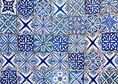 Moroccan vintage tile background — Photo