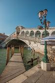 Rialto most, wenecja, włochy — Zdjęcie stockowe