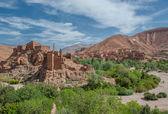 Berber kasbah in Dades gorge, Morocco — Stock Photo