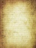 古いグランジ ノートからのページ — ストック写真