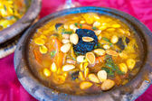 Lamb tajine, traditional moroccan dish — Stock Photo