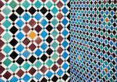 Moroccan vintage tile background — Stock Photo