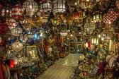 Marockanskt antik lampa — Stockfoto