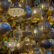 Moroccan antique lamp — Stock Photo