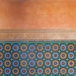 Moroccan vintage tile background — Stock Photo #28459119