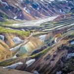 Scenic highland area of Landmannalaugar, Iceland — Stock Photo #30054815