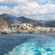 Panorama of Naxos, Cyclades, Greece — Stock Photo