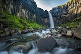 Svartifoss, Black Waterfall, Iceland — Stock Photo