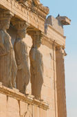 Caryatids, acropolis, athens — Photo