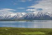 Eyjafjordur fjord, Iceland — Stock Photo