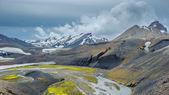 Scenic highland area of Landmannalaugar, Iceland — Stock Photo