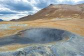 Hverarondor Hverir hot springs, Iceland — Stock Photo