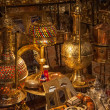 Moroccan antique shop — Stock Photo #30865427