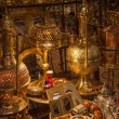 Moroccan antique shop — Stock Photo