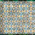 Moroccan vintage tile background — Stock Photo #30865745