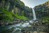 Svartifoss, Black Waterfall, Iceland — Stock Photo