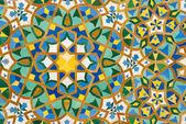 モロッコのヴィンテージのタイルの背景 — ストック写真