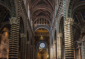 Interior of Siena Duomo, Tuscany, Italy — Stock Photo