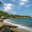 Beaches of Tayronnational park, Colombia — Stock Photo #31952029