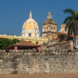Stock Photo: Walled town of Cartagena, Colombia