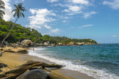 Beaches of Tayrona national park, Colombia — Stock Photo
