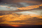 Sunset sky — Stockfoto
