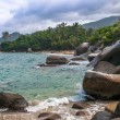 Beaches of Tayronnational park, Colombia — Stock Photo #31988689