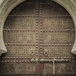 Ancient doors, Morocco — Stock Photo