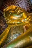 Bouddha couché, wat pho, bangkok, Thaïlande — Photo