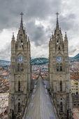 Basilica del Voto Nacional, Quito, Ecuador — Stock Photo