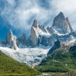Fitz Roy mountain, Patagonia, Argentina — Stock Photo