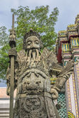 Chinese stone statue in Wat Pho, Bangkok, Thailand — Stock Photo