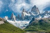Fitz Roy mountain, Patagonia, Argentina — Stock Photo