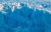 佩里托莫雷诺冰川,阿根廷的蓝色冰 — 图库照片
