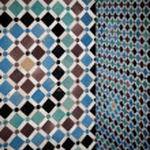 Grunge moroccan interior — Stock Photo