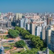 Panorama of Buenos Aires, Argentina — Stock Photo #34361377
