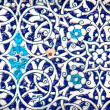 Tiled background with oriental ornaments — Stock Photo #34361405